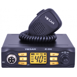 YOSAN JC 200 with 8W auto radio cb