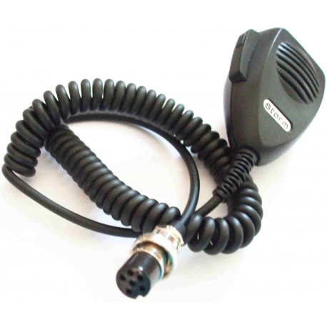 6pinouts microphone for storm stations