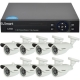 Kit dvr U Smart 8 camere Bullet supraveghere video