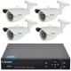 U Smart Kit video surveillance DVR 4 rooms Exterior