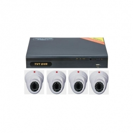 Kit supraveghere dvr TVT interior video