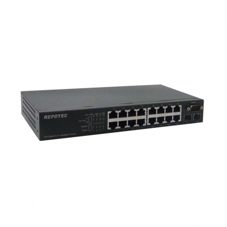 1000T 16P slot 1G 2SFP L2 Managed Switch 100