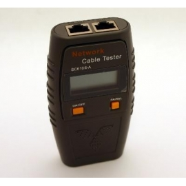 LAN Tester with LCD display NINGBO Shunsheng