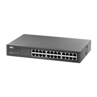 24 Fast Ethernet Switch 100Mbps standalone