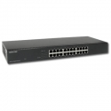 Giga Ethernet Switch 24 ports rack 19 Repotec