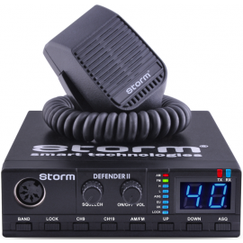 STORM Defender II at power4w CB radio