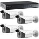Kit supraveghere video 4 camere HDCVI FULL HD