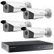 Surveillance Kit 4 rooms HDCVI FULL HD