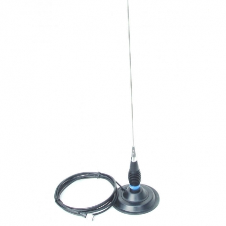 Antenna with magnetic base very simple