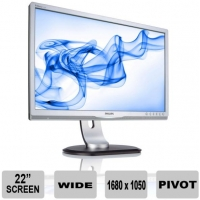 Philips 220P LCD Monitor used 22 inch