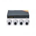 TVT interior surveillance DVR Kit 4 cameras