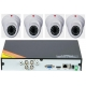 TVT interior surveillance DVR Kit 4 cameras